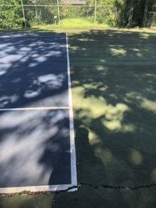 court damage from water