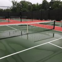 Water can be a pickleballs court's worst enemy