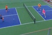 How much room do you need to play pickleball?